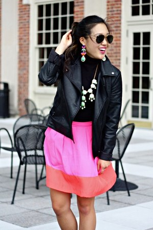 lime green Wild Butterfly Boutique necklace - black Forever 21 jacket