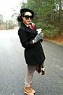 Forever-21-coat-beret-h-m-hat-louis-vuitton-bag-wedges-urbanog-sneakers