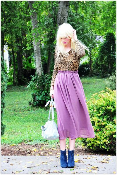 romwe skirt - vintage sweater