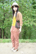dolce&gabanna shoes - loewe bag - Topshop pants - moda internacional cardigan