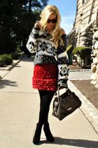 free people sweater - Giambattista Valli skirt