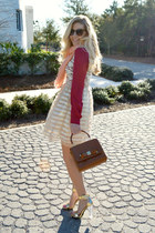 alteredstate dress - ted baker bag