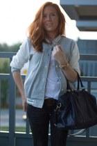 H&M jeans - Ebay jacket - les composantes bag - Levis belt