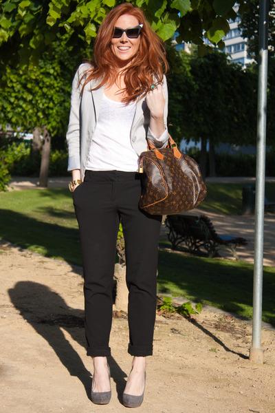 H&M blazer - Zara blouse - H&M pants - Zara shoes - httpwwwydeltuytnl accessorie