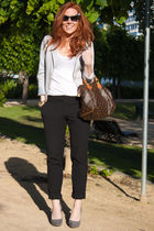 H&M blazer - Zara blouse - H&M pants - Zara shoes - httpwwwydeltuytnl accessorie