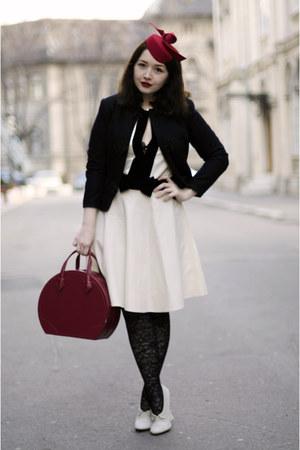Guinot bag - Noir by Corina Vladescu dress - fandacsia hat