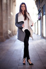 Heather-gray-draped-chicwish-coat-black-zara-jeans-white-cotton-h-m-t-shirt