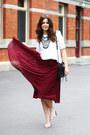 31-phillip-lim-bag-asos-top-asos-heels-asos-skirt-topshop-necklace