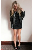 Chi Chi dress - Topshop jacket