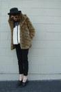 White-haute-juncture-blouse-brown-leopard-print-flying-tomato-coat