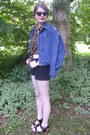 Black-levi-bohofairytale-shorts-blue-vintage-denim-ralph-lauren-jacket