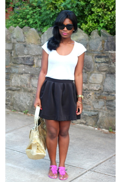 Kooba bag - Elizabeth & James sunglasses - H&M sandals - threadsence skirt