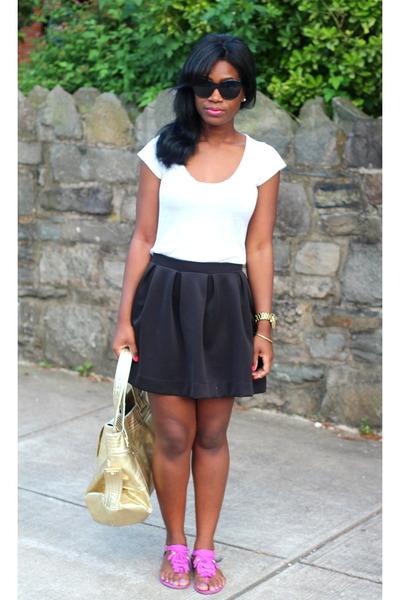Kooba bag - Elizabeth & James sunglasses - H&M sandals - threadsence skirt