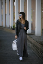 THE GREY MAXI DRESS