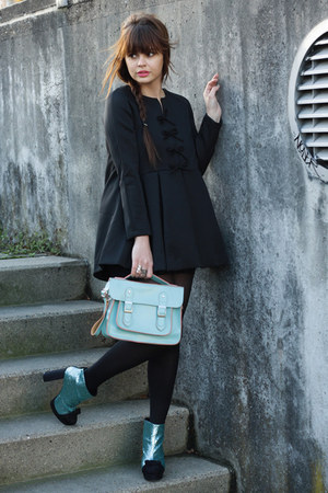 asos boots - Chicwish dress - Dressrepublic bag
