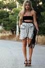Zara-skirt-zara-heels