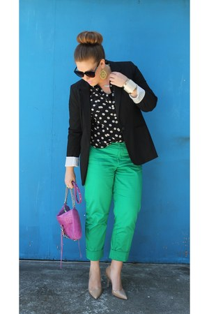 Target pants - Tobi shirt - Rebecca Minkoff bag