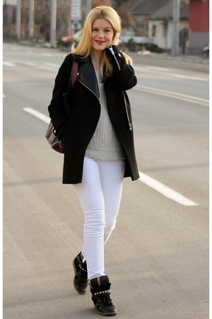Zara coat - Zara shoes