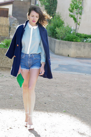 levis vintage shorts - Silence  The Noise coat - mood by me shirt