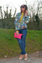 BLANCO shoes - Miss Sixty jeans - Zara jacket - Zara shirt - Zara bag