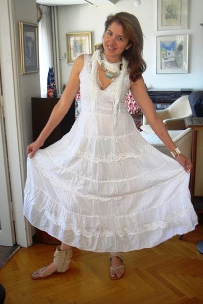 Turkey Dress Victorias Secret Shoes White Random Boutique Scarf 400