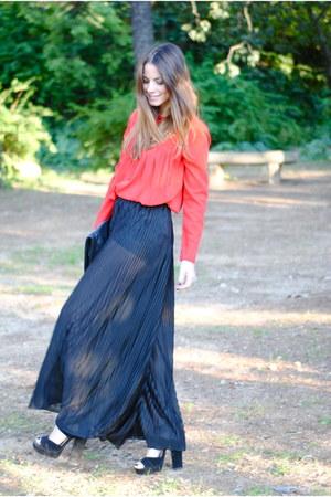 asos shoes - H&M pants - The Wardrobe top