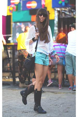 Prada bag - Primark shorts - SUEL top