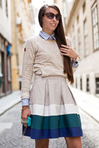 Zara skirt - Zara flats