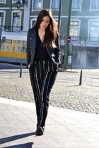 Mango jacket - Mango pants - Zara loafers