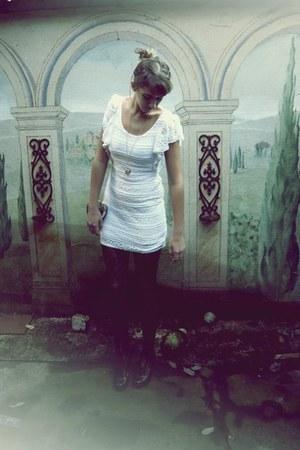 H&M dress - vintage accessories