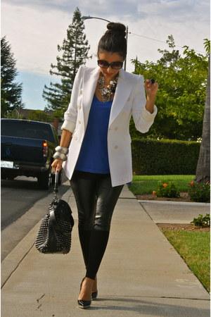 blue H&M blouse