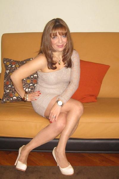 lace nude dress Zara dress - Pour La Victoire heels - alexis bittar bracelet