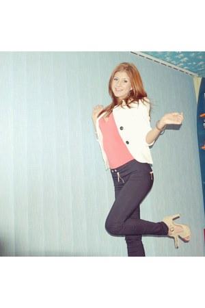 elisabetta franchi jeans pants - BSB jacket - uniconf shirt
