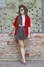 Ruby-red-blazer