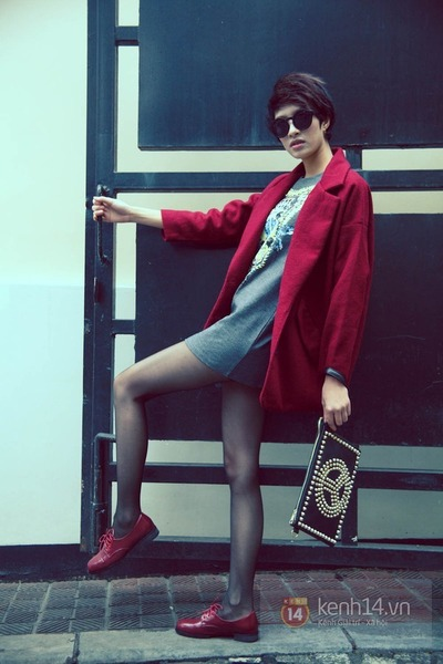 ruby red blazer - ruby red shoes