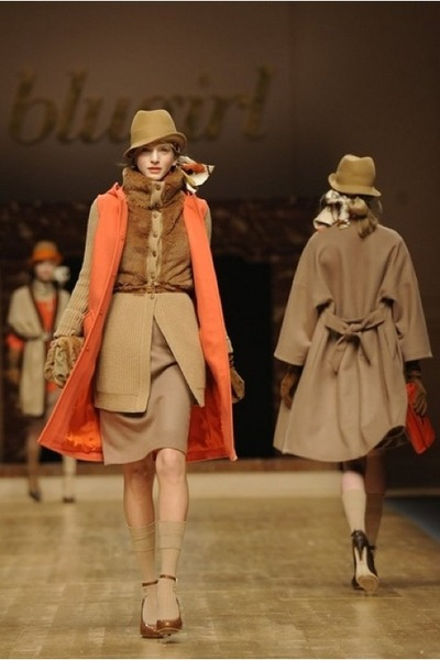 carrot orange coat