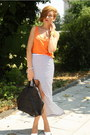 Black-givenchy-bag-carrot-orange-zara-top-white-romwe-skirt-white-zara-hee