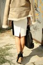 Black-givenchy-bag-tan-new-yorker-jacket-nude-american-apparel-shirt