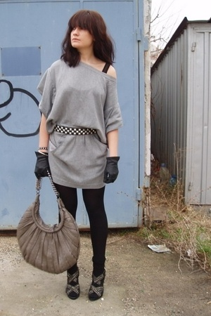 Zara dress - Zara accessories - American Apparel intimate - Zara shoes - Zara ac