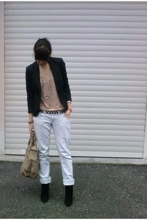 Topshop top - Zara jeans - Zara belt - Zara shoes - Zara accessories - Calliope