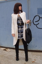 BDG dress - Elizabeth coat - Zara bag - H&M belt