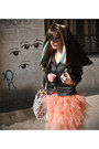 Cernei-jacket-recycled-paper-nahui-ollin-bag-tulle-cernei-skirt