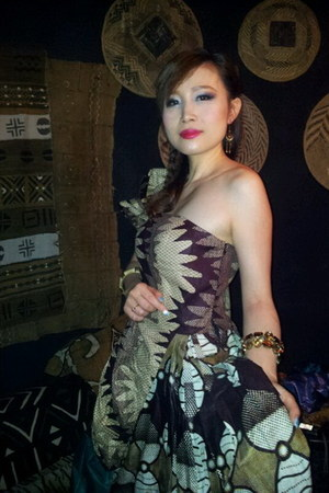 dark brown The Original People Design by Amina L dress