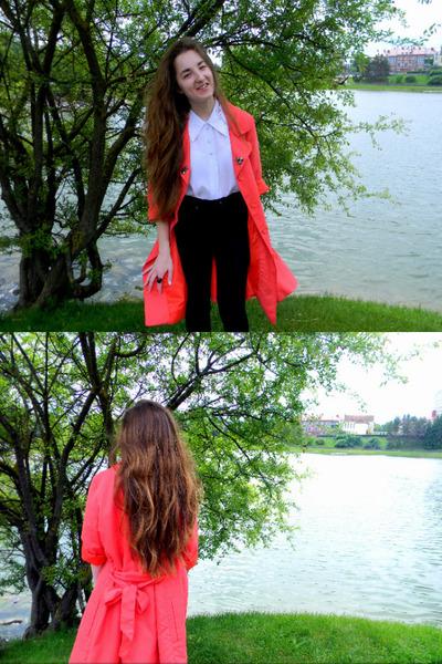 Vero Moda jacket - lindex jeans - grannys lol shirt