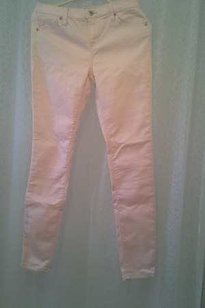 light pink denim Forever 21 jeans