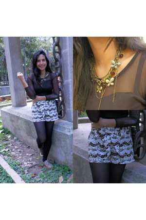 vestimenta shorts - Balú accesorios necklace