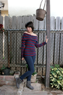 Forever-21-blouse-forever-21-jeans-gray-zara-boots