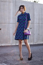 deep purple Marc by Marc Jacobs dress
