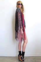fringed kimono Girl On A Vine cardigan