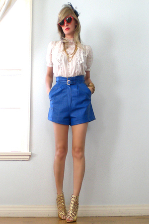G&G sunglasses - vintage shorts - go jane shoes